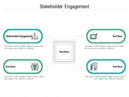 Stakeholder Engagement Ppt Powerpoint Presentation Styles Structure Cpb