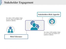 Stakeholder Engagement Ppt Slide Design