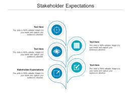 Stakeholder Expectations Ppt Powerpoint Presentation Portfolio Outline Cpb