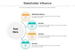 Stakeholder Influence Ppt Powerpoint Presentation Show Cpb