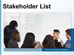 Stakeholder List Representative Engagement Business Analysis Communication