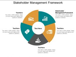 Stakeholder Management Framework Ppt Powerpoint Presentation Portfolio Designs Cpb