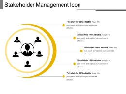 Stakeholder Management Icon 10