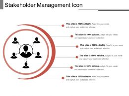 Stakeholder Management Icon 11