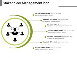 Stakeholder Management Icon 12
