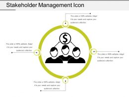 Stakeholder Management Icon 4