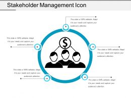 Stakeholder Management Icon 5
