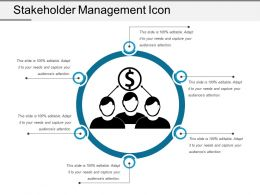 Stakeholder Management Icon 6