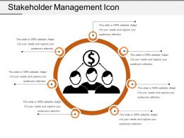 Stakeholder Management Icon 7