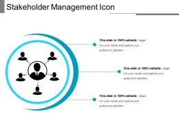 Stakeholder Management Icon 8
