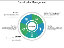 Stakeholder Management Ppt Powerpoint Presentation Show Guide Cpb