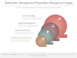 Stakeholder Management Presentation Background Images