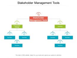Stakeholder Management Tools Ppt Powerpoint Presentation Pictures Influencers Cpb