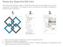 50716104 Style Hierarchy Matrix 4 Piece Powerpoint Presentation Diagram Infographic Slide