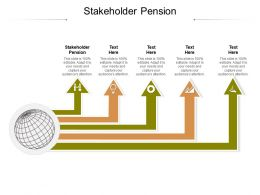 Stakeholder Pension Ppt Powerpoint Presentation Gallery Layouts Cpb