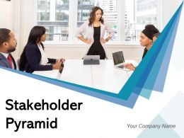 Stakeholder Pyramid Communication Discussion Development Strategic Engagement Management