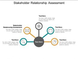 Stakeholder Relationship Assessment Ppt Powerpoint Presentation Portfolio Diagrams Cpb