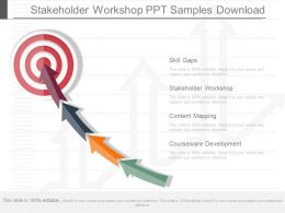 Stakeholder Workshop Ppt Samples Download