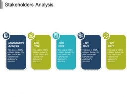 Stakeholders Analysis Ppt Powerpoint Presentation Infographic Template Design Inspiration Cpb