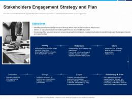 Stakeholders Engagement Strategy And Plan Process Benefits Project Ppt Formats