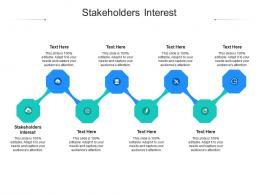 Stakeholders Interest Ppt Powerpoint Presentation Icon Outline Cpb