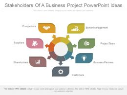 Stakeholders Of A Business Project Powerpoint Ideas