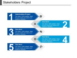 Stakeholders Project Ppt Powerpoint Presentation Icon Display Cpb