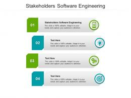 Stakeholders Software Engineering Ppt Powerpoint Presentation File Mockup Cpb