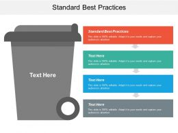 Standard Best Practices Ppt Powerpoint Presentation Ideas Topics Cpb