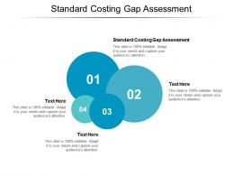 Standard Costing Gap Assessment Ppt Powerpoint Presentation Ideas Backgrounds Cpb