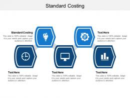 Standard Costing Ppt Powerpoint Presentation Ideas Clipart Images Cpb