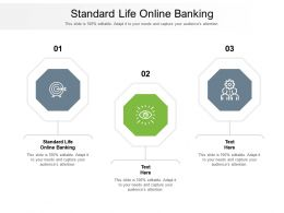Standard Life Online Banking Ppt Powerpoint Presentation Outline Background Cpb