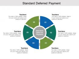 Standard Of Deferred Payment Ppt Powerpoint Presentation Icon Slide Portrait Cpb