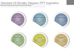 Standard Of Morality Diagram Ppt Inspiration