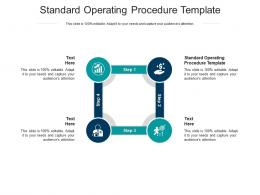 Standard Operating Procedure Template Ppt Powerpoint Guidelines Cpb