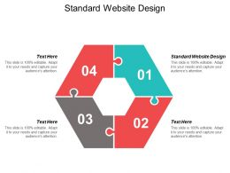 Standard Website Design Ppt Powerpoint Presentation Professional Examples Cpb