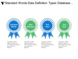 Standard Words Data Definition Types Database Basic Definition