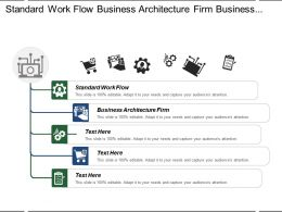 Standard Work Flow Business Architecture Firm Business Needs Management Challenges