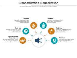 Standardization Normalization Ppt Powerpoint Presentation Ideas Graphics Example Cpb