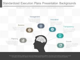 Standardized Execution Plans Presentation Backgrounds