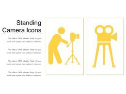 Standing Camera Icons