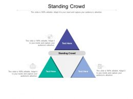 Standing Crowd Ppt Powerpoint Presentation Slides Inspiration Cpb