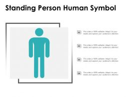 Standing Person Human Symbol
