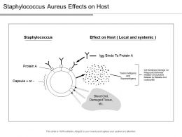 Staphylococcus Aureus Effects On Host