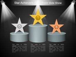 Star Achievers Powerpoint Slide Show