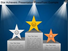 Star Achievers Presentation Powerpoint Example