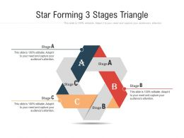 Star Forming 3 Stages Triangle