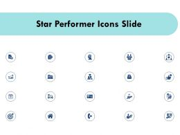 Star Performer Icons Slide Ppt Powerpoint Presentation Infographics Diagrams