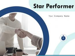 Star Performer Powerpoint Presentation Slides