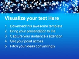 Starry Background Abstract PowerPoint Templates And PowerPoint Backgrounds 0711